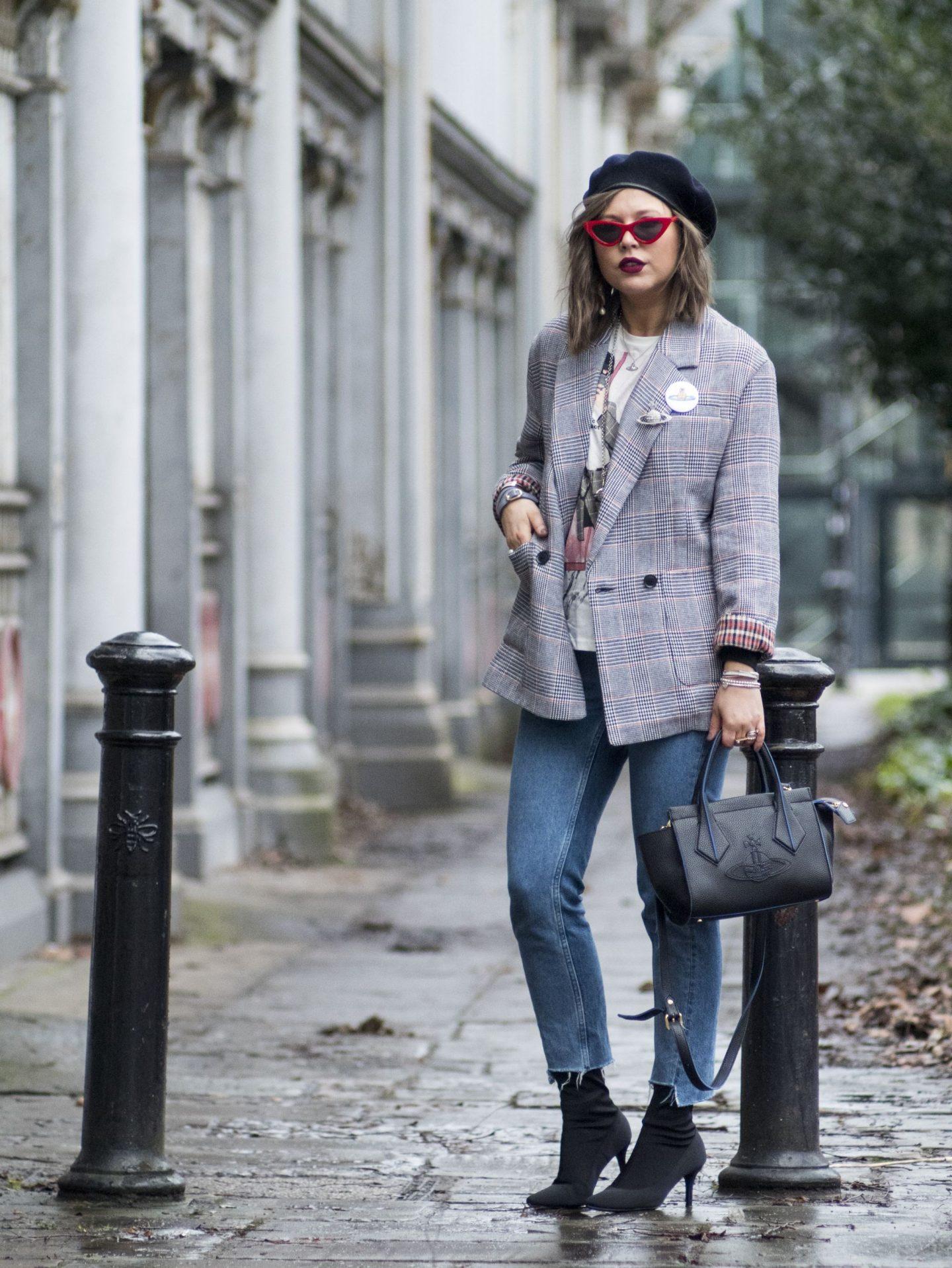 manchester blogger , manchester fashion, vivinne westwood , vivenne westwood bag ,