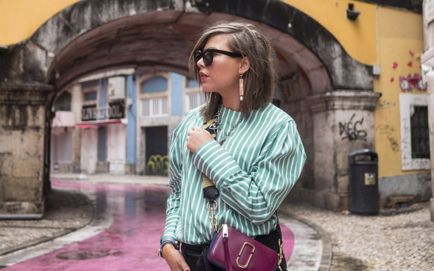 manchester fashion blogger , marc jacobs bag, travel blogger , Lisbon, Portugal